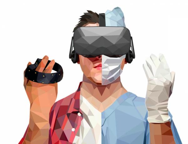 formation professionnelle, réalité virtuelle, médecin